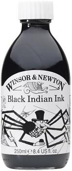 Tuš Winsor Newton 250ml černá
