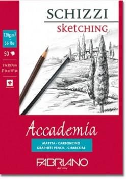 Skicák Accademia 120g A3