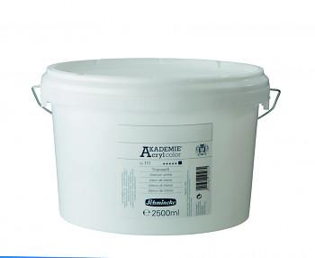 Akrylová barva Akademie 2500ml – 111 titanium white