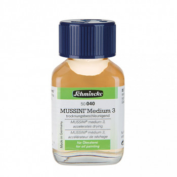 Medium Mussini 3 pro olej – různé velikosti