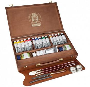 Luxusní sada olejových barev Mussini 15x35ml v kufříku