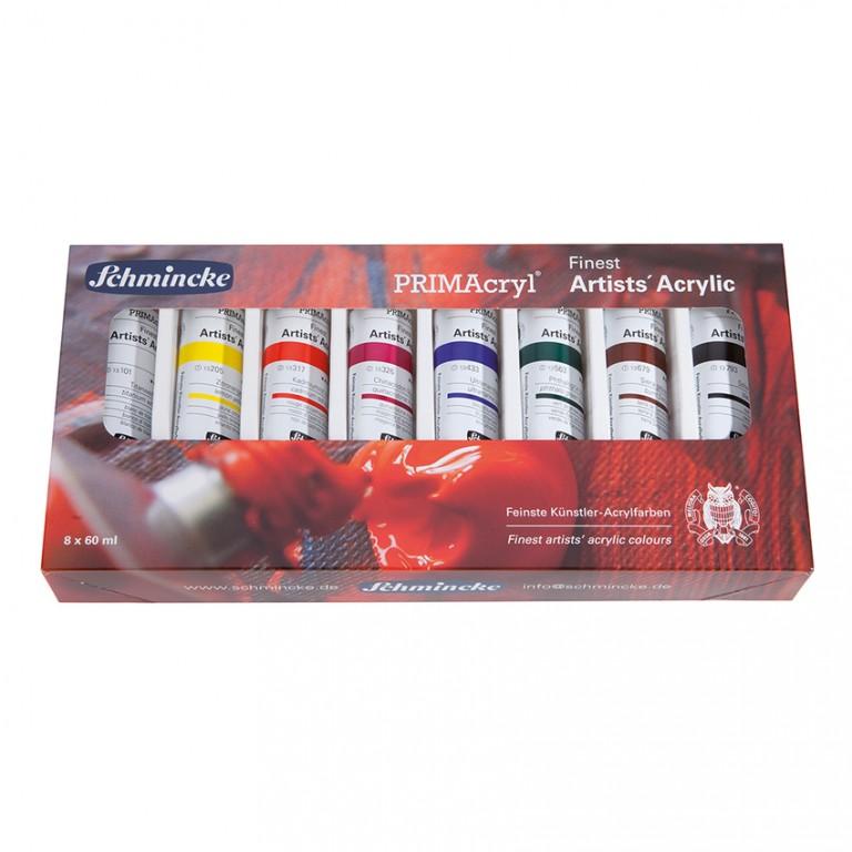 Sada akrylových barev Primacryl 8x60ml