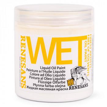 Podkladová olejová barva Wet 250ml – bílá