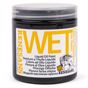Podkladová olejová barva Wet 250ml – černá