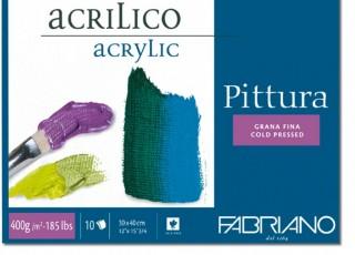 Blok pro malbu Fabriano Pittura 30x40cm
