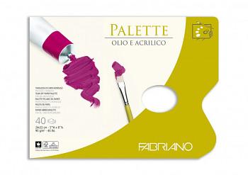 Papírová paleta Fabriano 24x32cm 40 listů
