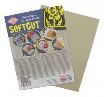 Softcut - měkká podložka pro linoryt 15x10cm