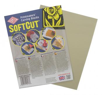 Softcut - měkká podložka pro linoryt 7,5x10cm