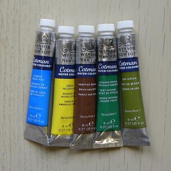 Výprodej – Akvarelová barva Cotman 8ml – vyberte odstíny