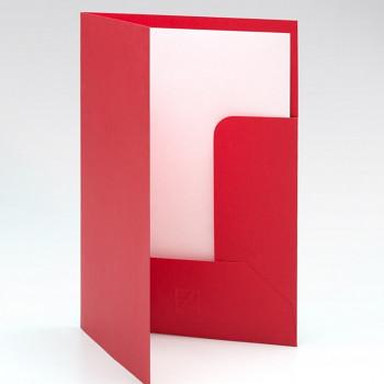 Desky na dokumenty a výkresy Ecoqua A4 – červené