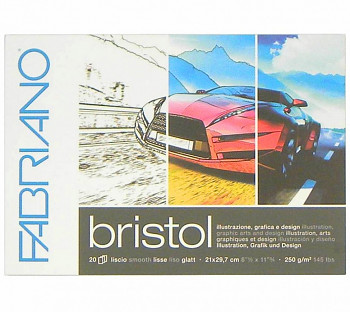 Blok Fabriano Bristol 250g A5