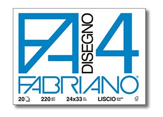 Papír Fabriano Disegno 4 220g hladký 50x70cm