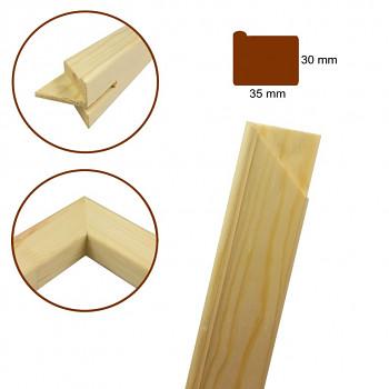Blindrám vysoký profil 3cm – vyberte rozměr