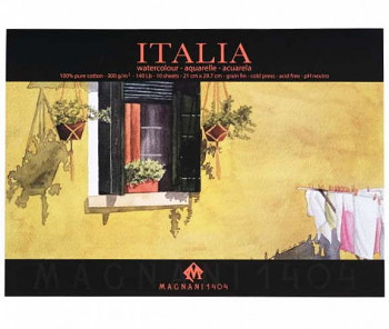 Blok pro akvarel Renesans Magnani A4 100% bavlna