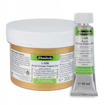 Třpytkové medium pro akryl zlaté 60ml