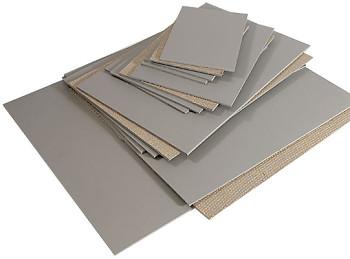 Lino pro linoryt šedé – různé velikosti