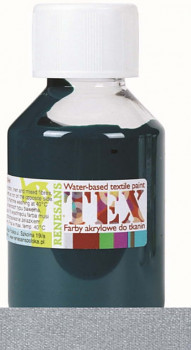 Barva na textil Tex 100ml – stříbrná