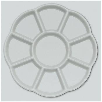 Porcelánová paleta – květina velká, 9 důlků