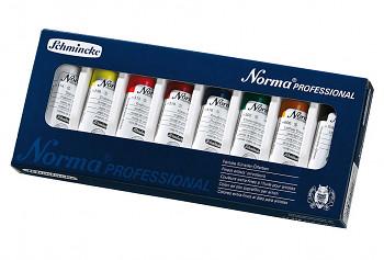 Sada olejových barev Schmincke Norma 8x35ml
