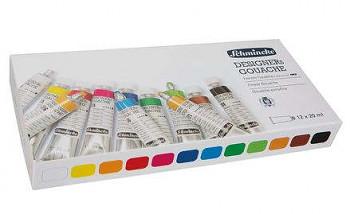 Sada kvašových barev Schmincke Designer's 12x20ml