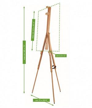 Dřevěný plenérový stojan Mabef - M/29.AL