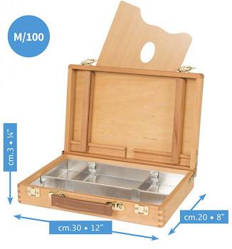 Luxusní dřevěný kufřík Mabef 20x30cm - M/100