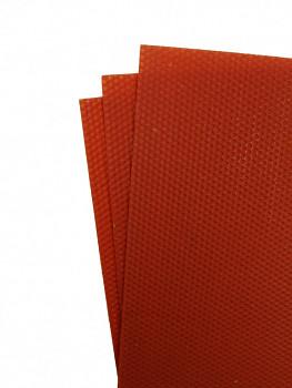 Včelí vosk červený 3 plátky 10,5x37cm