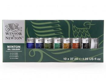Sada olejových barev Winton 10x37ml
