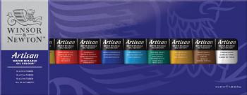 Sada vodou ředitelných olejových barev Artisan 10x37ml