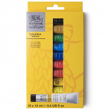 Sada akrylových barev Galeria 10x12ml