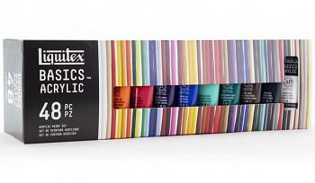 Sada akrylových barev Basics 48x22ml