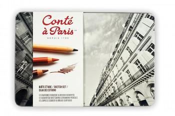 Kreslířská sada Conte a Paris 12ks
