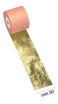 Zlatící plátek v roli 30mm x 50m