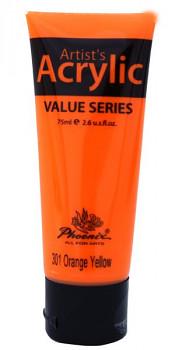 Akrylová barva Phoenix 75ml – základní odstíny