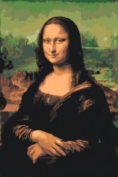 Malování podle čísel – Mona Lisa 40x60cm