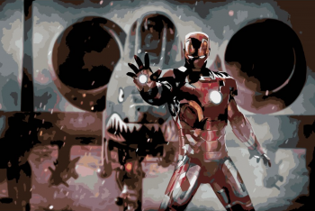 Malování podle čísel – Iron man 40x60cm