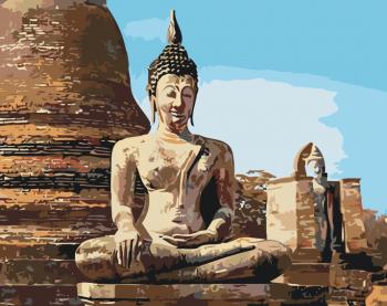 Malování podle čísel – Buddha 40x50cm