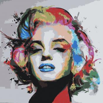 Malování podle čísel – Marilyn Monroe 50x50cm