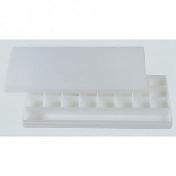 Uzavíratelná plastová paleta 28x13cm