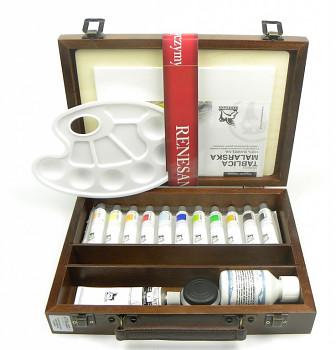 Luxusní sada akrylových barev Colours 20ml v kufříku