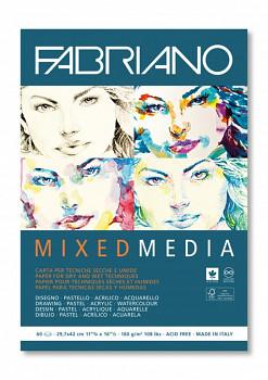 Blok Fabriano mixed media A3 160g 60 listů