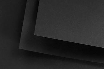 Černý papír Fabriano Black black 460g 50x70cm