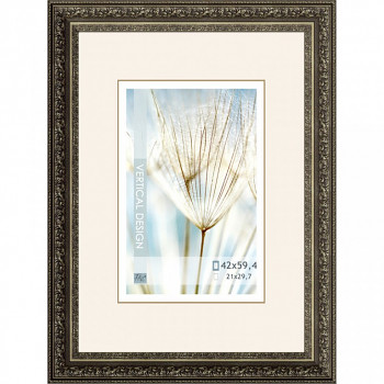 Blondelový zdobný rám 1636 stříbrný – A2