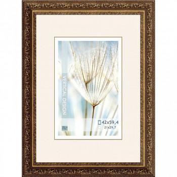 Blondelový zdobný rám 1636 zlatý – A2