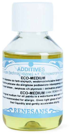 Eco médium pro olejové barvy Renesans 100ml