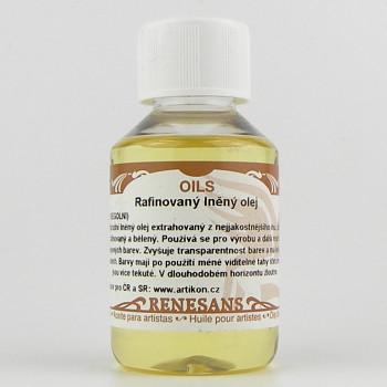 Lněný olej rafinovaný - vyberte velikost