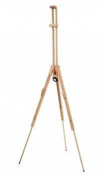 Plenérový stojan typu Dalí – masivní buk