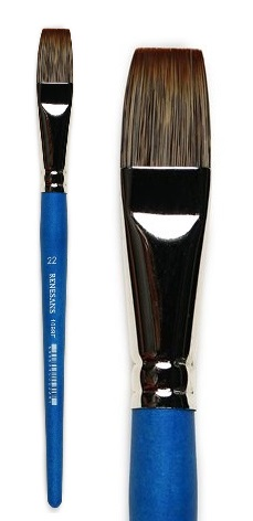 Štětec imitace mangusta 1099F – velikost 4