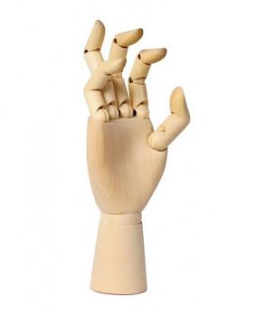 Dřevěný model ruky – pravá