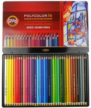 Sada pastelek Polycolor 36ks